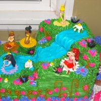 Tinkerbell And Friends Cake