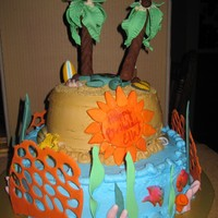 Tropical Themed Birthday