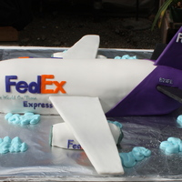 Fedex Airplane Made for a FedEx picnic in Anchorage. MMF with corrugated cardboard BCF covered wings and tail/stabilizers. Engines were cake as was the...