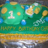 Turtle Birthday Cake I made this picture for my son's first birthday. This was my first attempt at fondant (I used marshmallow fondant). It's...