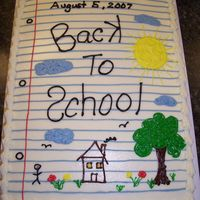 Back To School This cake was inspired by a similar one on CC.