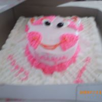 Uniqua From Nickalodean  This was a birthday cake for a friendâs niece. I had no idea who Uniqua was from the Nickelodeon Channel but I found a cute...