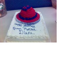 Red Hat Birthday Party  My mother is Queen Mother of a Red Hat Society Chapter. She was having bowling party to celebrate her birthday. I made the crown from the...