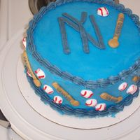 Go Yankees!! I was just making a cake for practice, and my son suggested a Yankee's cake because he said the team needed the encouragement! GO...