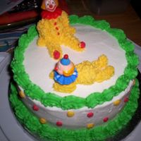 Wilton Course 1 Clown Cake