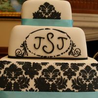 Justins_Wedding_Cake.jpg  My first wedding cake attempt, for my brother's wedding. Bride chose design, and I warned her I had no experience with square cakes or...