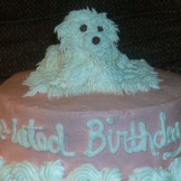 Puppy Cake This is a bad replication of the cakes I've seen here (thanks Peeg). It was worth trying though. Thanks for looking