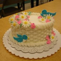 Wilton Ii Final   Just the standard Wilton II Final cake...but I had fun making it.