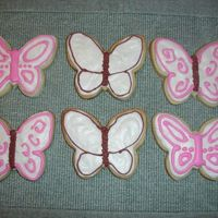 Butterfly Cookies  Practice with Alice's Cookie Icing. I don't know if I just made the icing wrong (I followed the recipe exactly); but the icing...