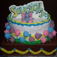 Seussical The Musical Cake This cake was for my son's cast party after their last performance of Seussical Jr (a shorter version of Seussical the Musical). The...