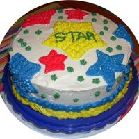 Star  This is my first cake, I haven't gotten to take any classes yet (september - wilton 1). For the first batch (white and yellow) I used...