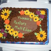 Course 2 Final Fall/ Pastor's Appreciation Month This was my course 2 final cake. My teacher is pretty flexible as long as we include some of the necessary elements from the course so I...