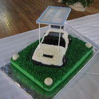 Golf Grooms Cake A friend of mine asked me to make her son a golf themed grooms cake for his wedding. After much searching, this seemed to be fairly...