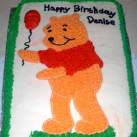 Winnie The Pooh Its decorated in bc icing.