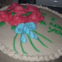 Rose Bunch This was my final cake for level one.
