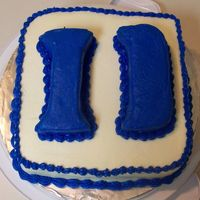 "Duke This was my first ""paid"" cake order! I used coolmom's Duke cake for inspiration. I also used the NF Pound Cake posted on CC..."