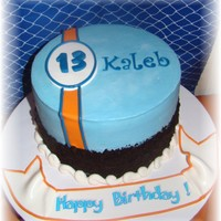 Boy's Cake This is an Ice Cream Cake for a 13 year old boy who just wanted a delicious cake to eat, w/no spacific design . I was totally inspired by...