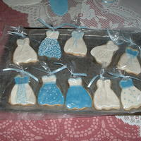 Bridal Shower Cookies Sugar cookies with MMF and royal icing