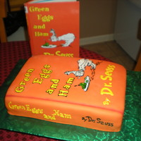 Happy Birthday Dr. Suess!! This was done for read across america, in my school district. The winner of the mystery reader got this cake!! Marble cake, bc icing....