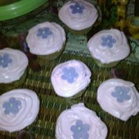 Baby Shower Cup Cakes   Vanilla, moka & Banana cup cakes for a Girl baby shower