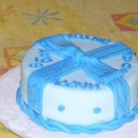 Chocolate Cake This is a chocolate cake for a man birthday. Cover and decorated with fondant