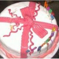 Vanilla Bow Cake No comments