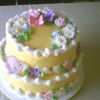 Nancys_Cake.jpg Had fun making all the flowers for this cake. First time making the butterfly.