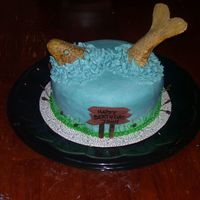 Fish Cake Made this for an avid fisherman's birthday. The fish, sign and cattails are fondant. The fish is handpainted with food coloring. It...