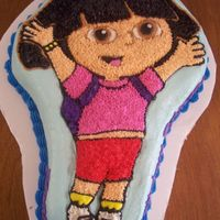 Dora Cake For 5 Year Old Dora!! What more can I say....isn't she cute???
