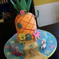 Pineapple Under The Sea