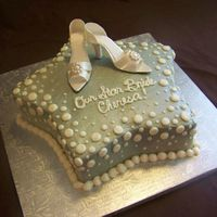 Hollywood Bride   Gumpaste shoes