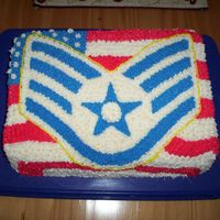 Ssgt Promothion Cake For My Husband