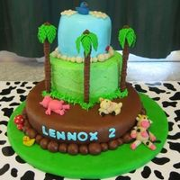 Lennoxs_Cake_Cake_Central.jpg I made this cake for my little boys 2nd birthday. We had way too much cake to eat, but I enjoyed making it, he loves all farm animals and...