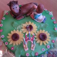 Cake With A Horse