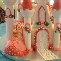 Castle Cake Cinderella castle cake for my daughters 3rd birthday. Very fun to do!