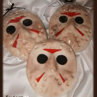 Jason's Hockey Mask Cookies