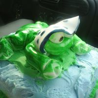 Frog Baby Cake2