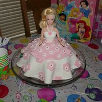Barbie Princess Cake  This was my first time with marshmallow fondant and it was pretty challenging. Once all the kneading was done the decorating part was...