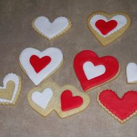 Practice Valentine Cookies These were my first MMF cookies. I used NFSC and MMF... they're just for practice, but I think for the next batch, I'll try to...