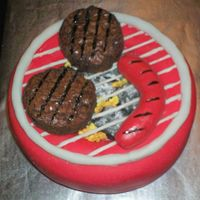 Cookout Cake Brownie Burgers!