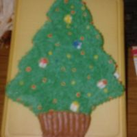 Christmas Tree  Another cake requested by a co-worker. Sorry for the blur. This was 11 years ago, long before digital cameras- I am trying to get all my...