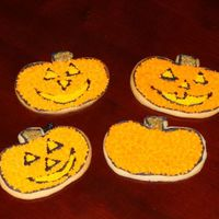 Pumpkin And Jack O'lantern Cookies