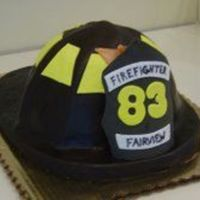 Firehat   For Graduation of a firefighter