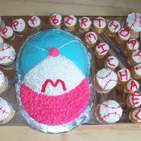Baseball Theme Cake   made for my nephew