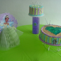 Princess Chocolate & marble cake with Butter cream, Also pippig gel.