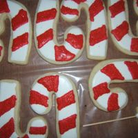 "Candy Canes Loved the ""glitter"" on these :)"