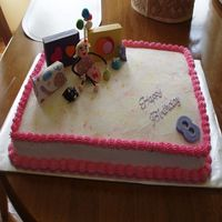 Granddaughters Bd Cake