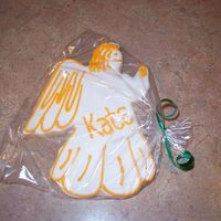 Angel nfsc w/ antonias icing...i was not all to happy with the way that this one turned out..but when i delivered the cookies she really liked it...