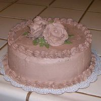 Rich's Bettercreme This cake was a practice cake to try Rich's Chocolate Bettercreme.