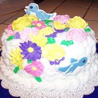 Course 2 Final Cake Course 2 final cake. I loved doing the baket weave and difficulty with the colorow birds these birds where my third attempt. I could use...